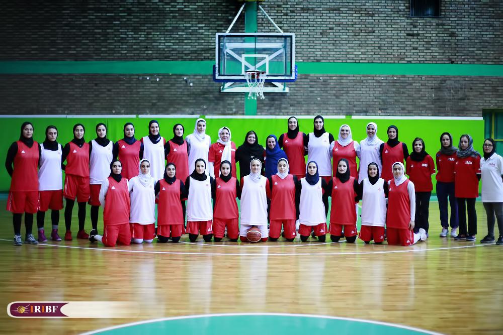 تمرین تیم ملی بسکتبال بانوان 17 تمرین تیم ملی بسکتبال بانوان به روایت تصویر