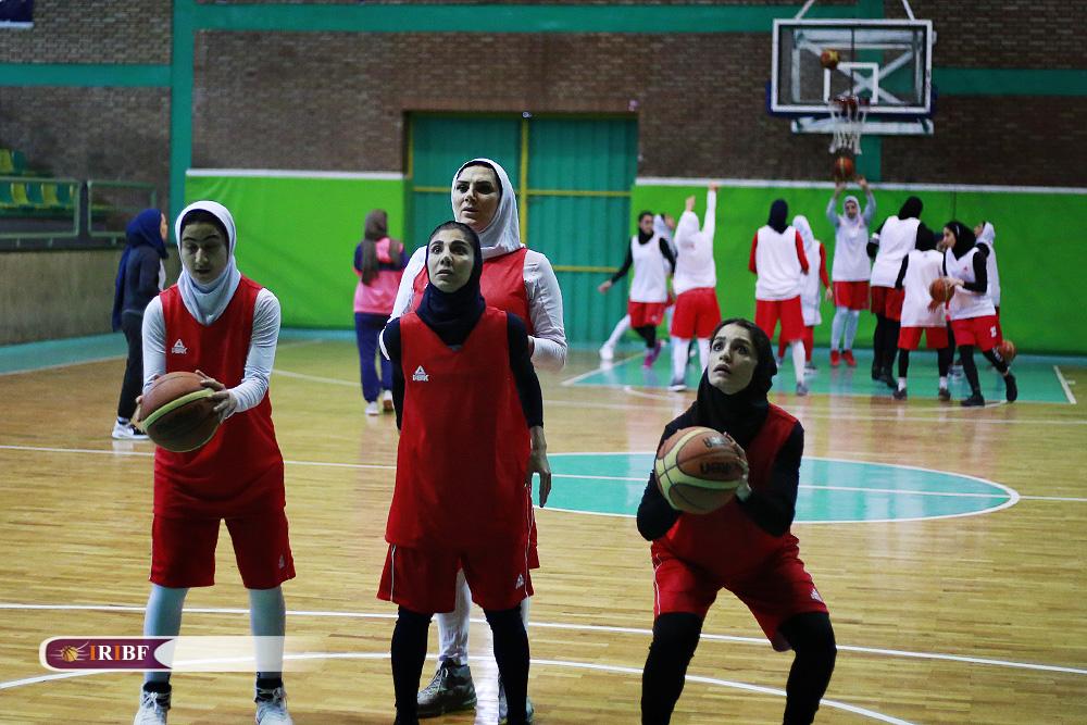 تمرین تیم ملی بسکتبال بانوان 2 تمرین تیم ملی بسکتبال بانوان به روایت تصویر