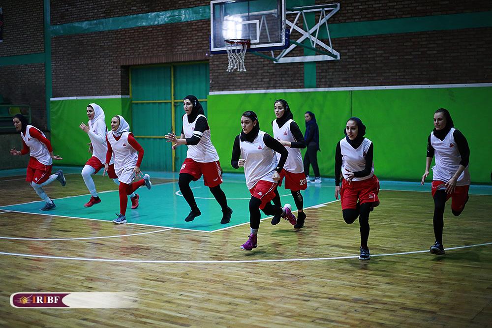 تمرین تیم ملی بسکتبال بانوان 4 تمرین تیم ملی بسکتبال بانوان به روایت تصویر