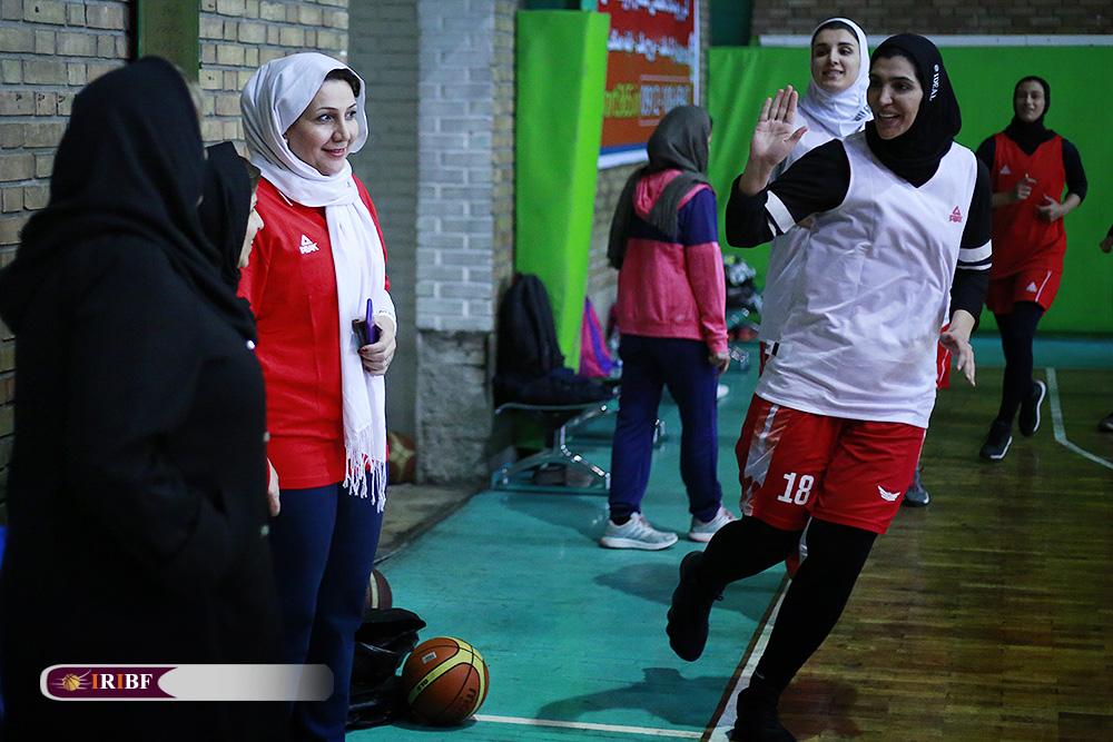 تمرین تیم ملی بسکتبال بانوان 5 تمرین تیم ملی بسکتبال بانوان به روایت تصویر