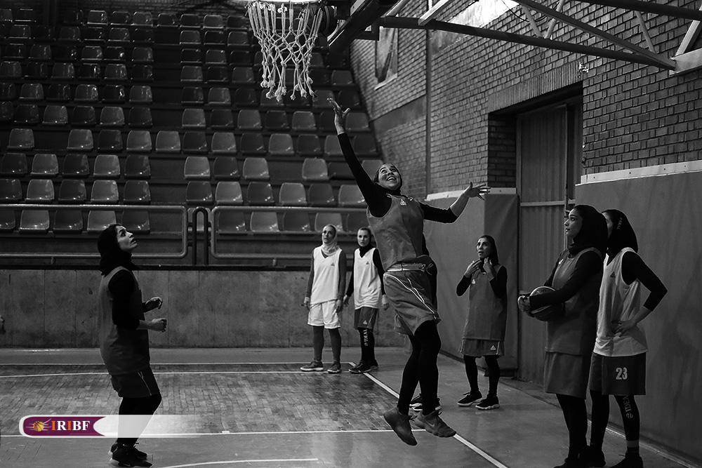 تمرین تیم ملی بسکتبال بانوان 6 تمرین تیم ملی بسکتبال بانوان به روایت تصویر