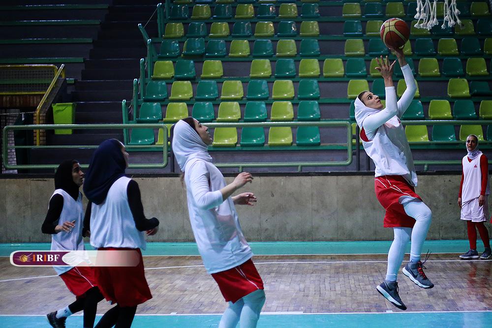 تمرین تیم ملی بسکتبال بانوان 7 تمرین تیم ملی بسکتبال بانوان به روایت تصویر
