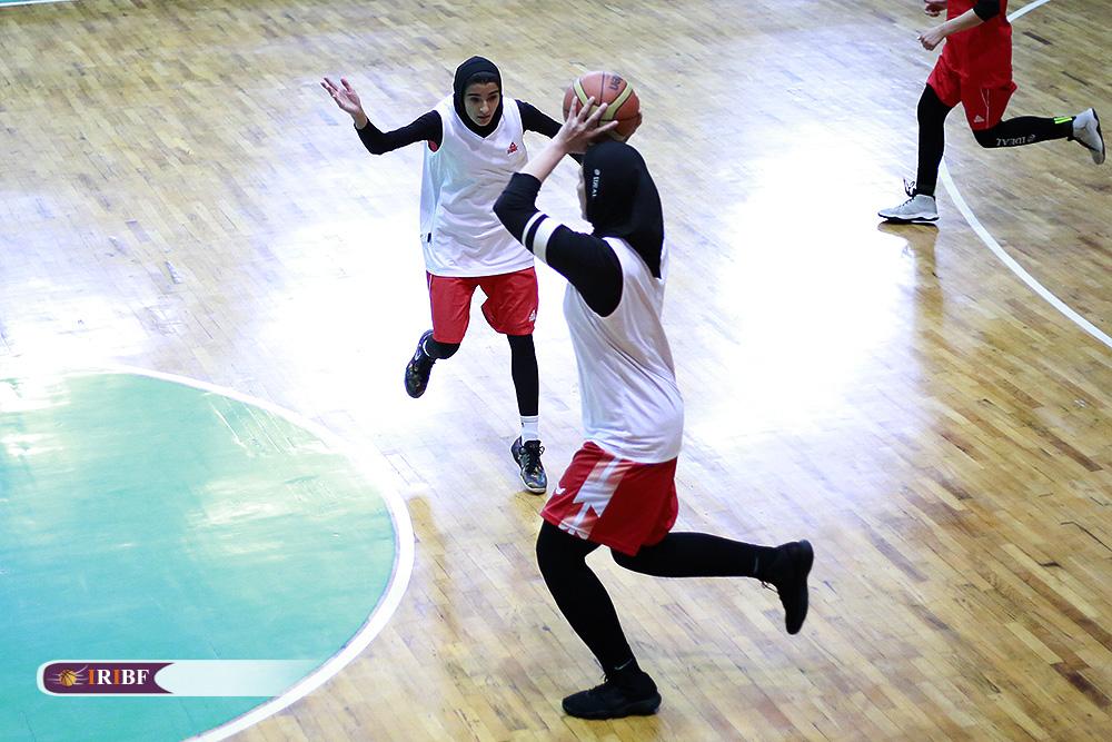 تمرین تیم ملی بسکتبال بانوان 8 فاصله بسکتبال زنان ایران با تیمهای آسیایی از زبان شایسته متشرعی