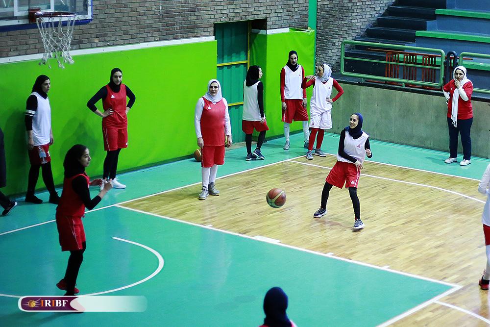 تمرین تیم ملی بسکتبال بانوان 9 تمرین تیم ملی بسکتبال بانوان به روایت تصویر