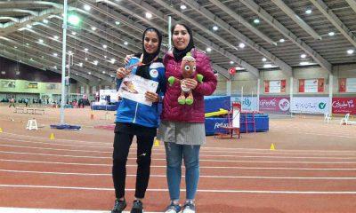 تکتم دستاربندان و حمیده جوان دو و میدانی بانوان Toktam Dstarbandan 400x240 نظرات حمیده جوان در مورد اعزام دختران ایران به مسابقات داخل سالن آسیا