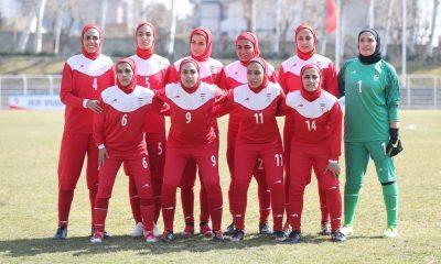 تیم ملی فوتبال بانوان ایران بلاروس 400x240 ایران ۹ فلسطین صفر | پیروزی بیرحمانه و روحیه بخش در دوحه