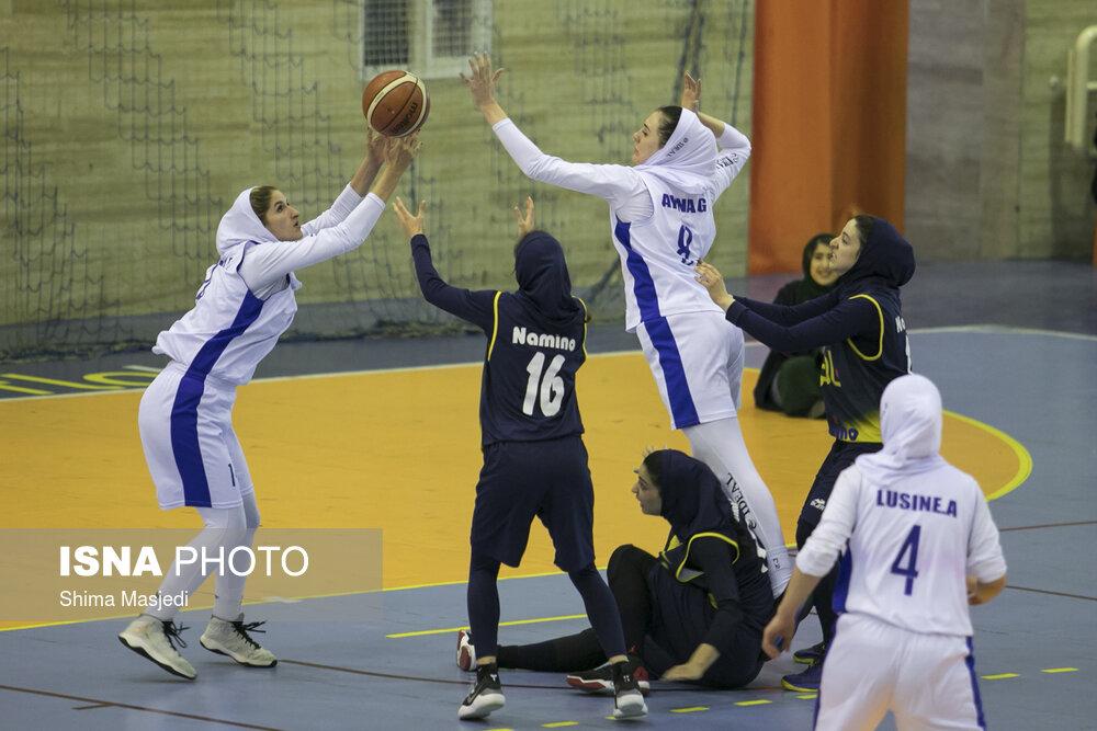 21 بازیکن در اردوی دوم تیم ملی بسکتبال بانوان