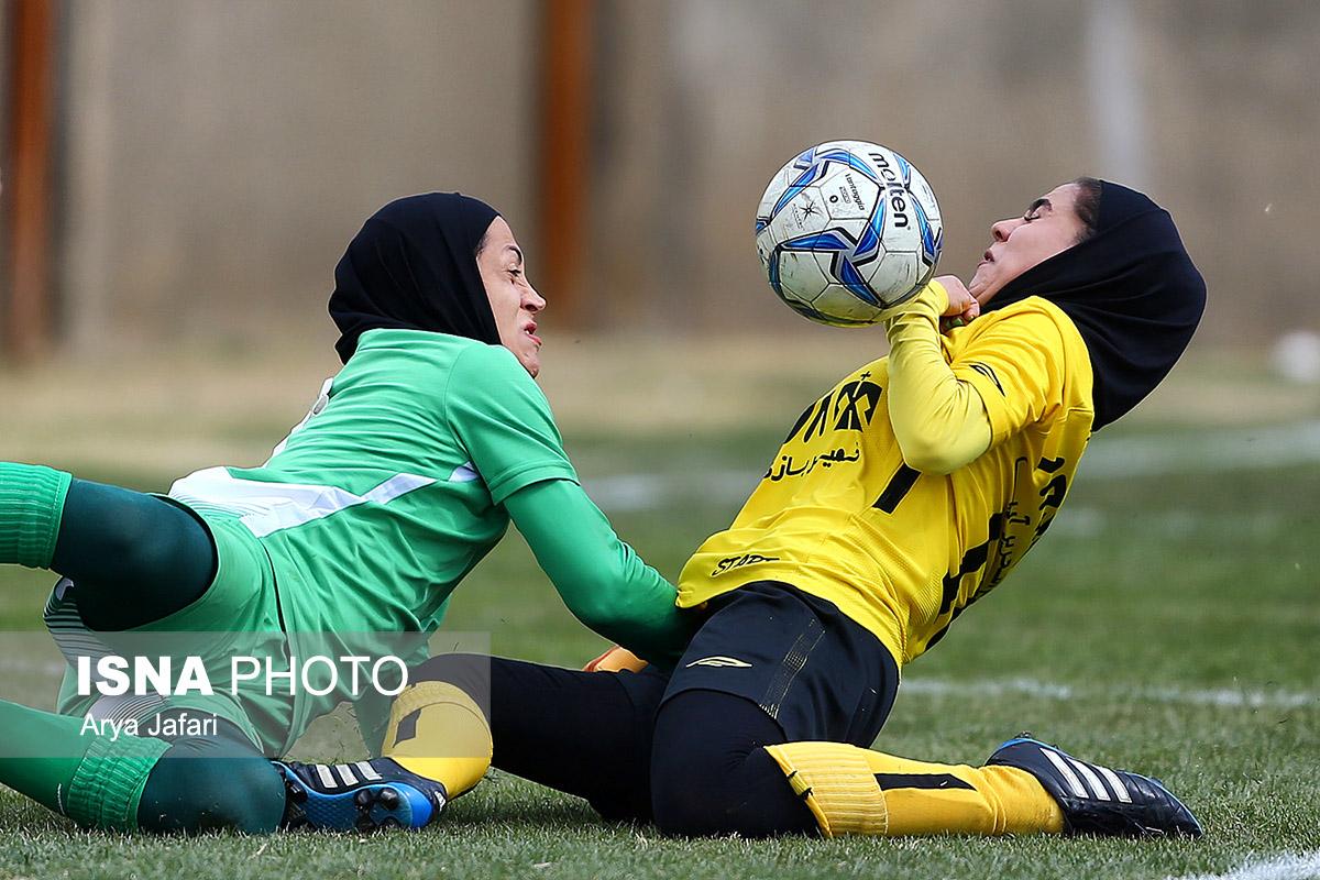 هفته سیزدهم لیگ برتر فوتبال بانوان | پیروزی قاطع شهرداری بم و وچان کردستان