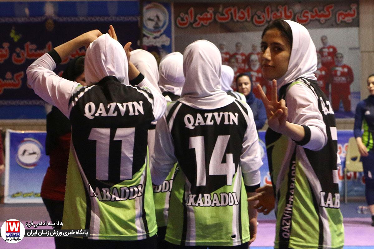 هفته پایانی و اهدای جام لیگ برتر کبدی بانوان به روایت تصویر