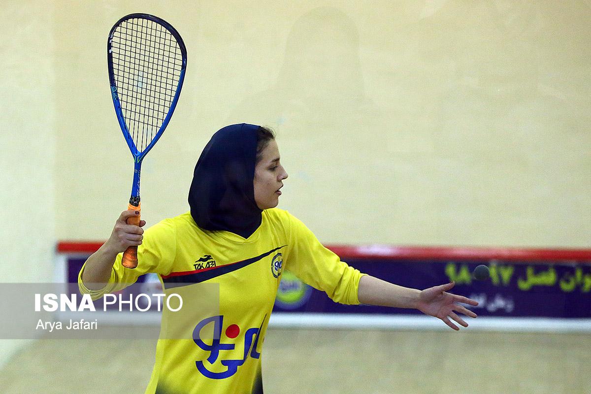 پیروزی دانشگاه آزاد برابر ماتریس یزد و نامی نو در لیگ برتر اسکواش بانوان