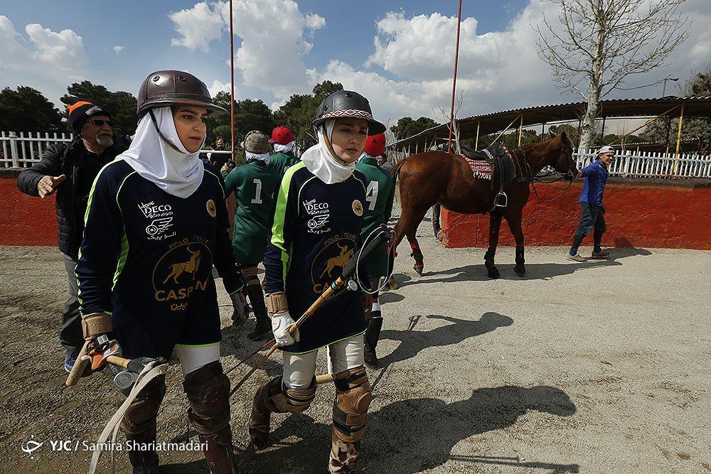 مسابقات چوگان بانوان 4 1000x667 مسابقات چوگان بانوان قهرمانی کشور به روایت تصویر