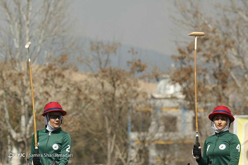 مسابقات چوگان بانوان 7 1000x667 مسابقات چوگان بانوان قهرمانی کشور به روایت تصویر