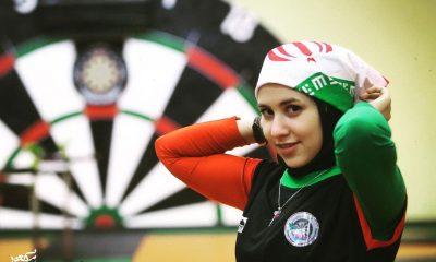 مژگان رحمانی دارت Mozhgan Rahmani Darts 400x240 مورد خاص دارت باز ایرانی ؛ جذب اسپانسر از نیجریه