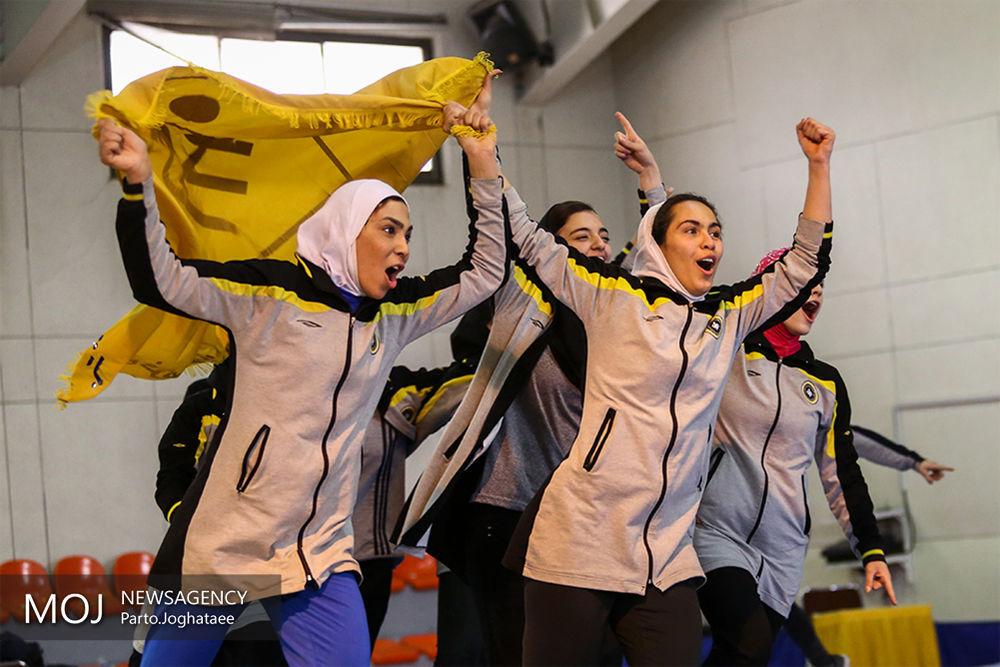 هفته پایانی لیگ برتر ووشوی بانوان و قهرمانی سپاهان به روایت تصویر