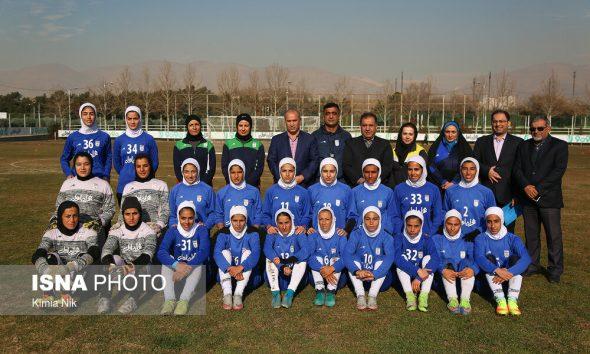 57801945 590x354 فوتبال زنان ایران در رده ۷۰ جهان باقی ماند