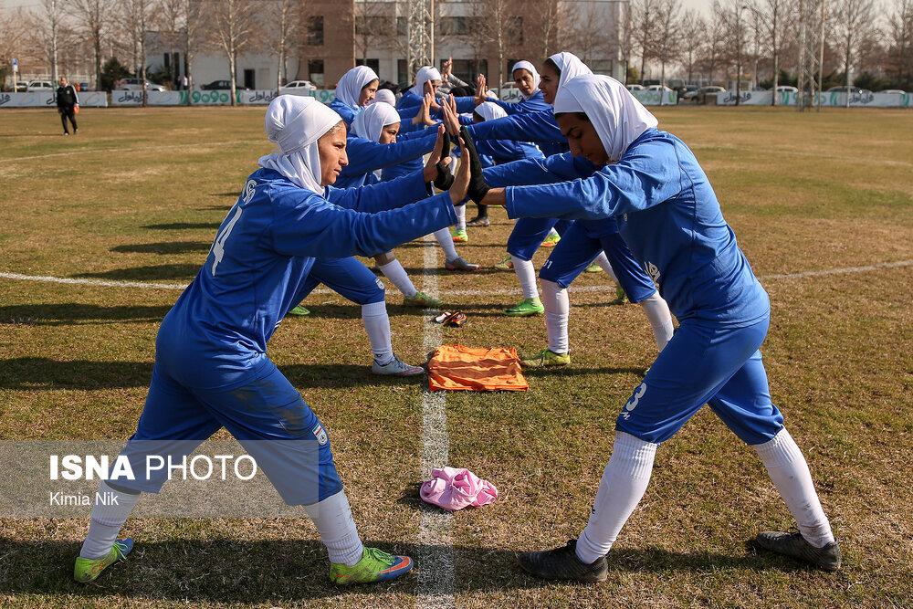 57801957 امیدواری مریم آزمون به تیم ملی فوتبال بانوان