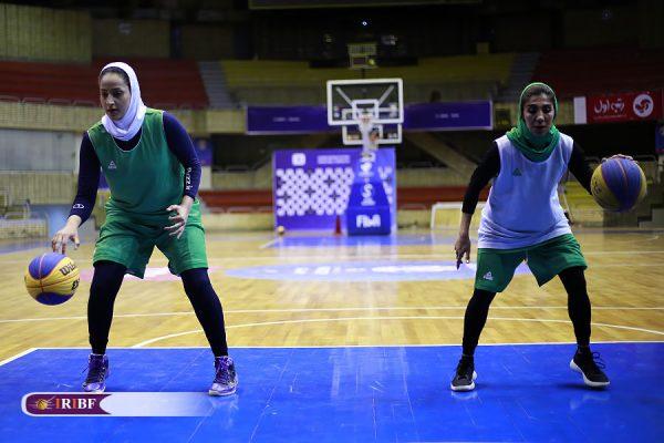 اردوی تیم ملی بسکتبال 3 نفره بانوان 1 600x400 اردوی تیم ملی بسکتبال ۳ نفره بانوان به روایت تصویر
