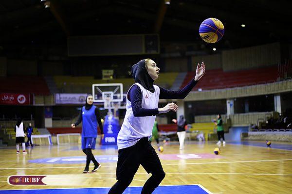 اردوی تیم ملی بسکتبال 3 نفره بانوان 11 600x400 اردوی تیم ملی بسکتبال ۳ نفره بانوان به روایت تصویر