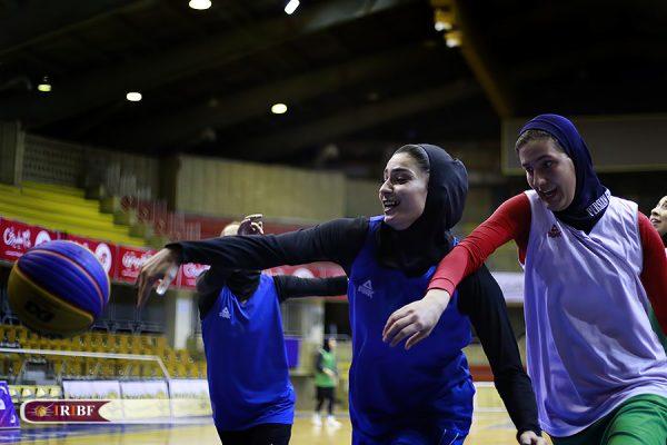 اردوی تیم ملی بسکتبال 3 نفره بانوان 17 600x400 اردوی تیم ملی بسکتبال ۳ نفره بانوان به روایت تصویر
