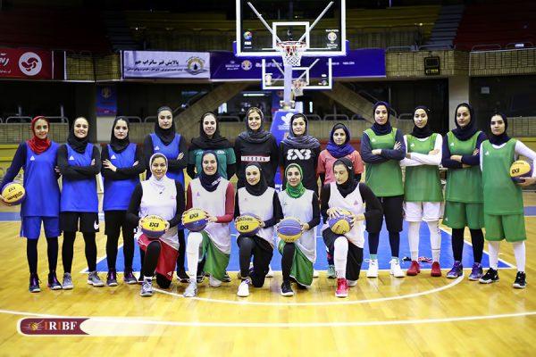 اردوی تیم ملی بسکتبال 3 نفره بانوان 3 600x400 اردوی تیم ملی بسکتبال ۳ نفره بانوان به روایت تصویر