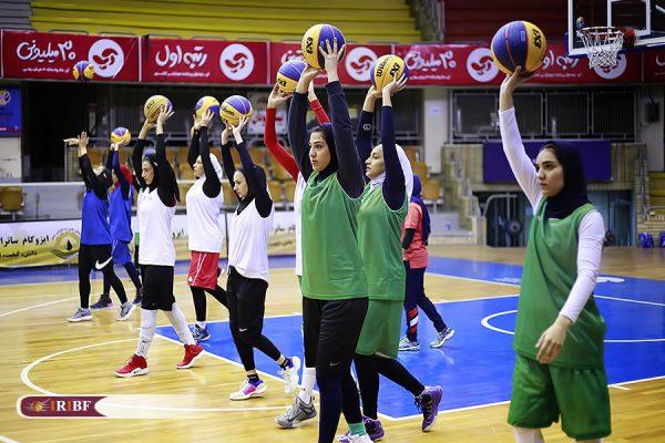 اردوی تیم ملی بسکتبال 3 نفره بانوان 4 600x400 اردوی تیم ملی بسکتبال ۳ نفره بانوان به روایت تصویر
