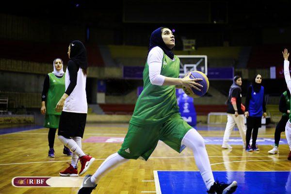 اردوی تیم ملی بسکتبال 3 نفره بانوان 5 600x400 اردوی تیم ملی بسکتبال ۳ نفره بانوان به روایت تصویر