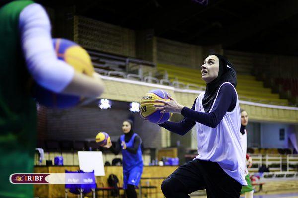 اردوی تیم ملی بسکتبال 3 نفره بانوان 6 600x400 اردوی تیم ملی بسکتبال ۳ نفره بانوان به روایت تصویر