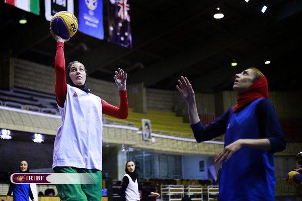 اردوی تیم ملی بسکتبال 3 نفره بانوان 8 600x400 اردوی تیم ملی بسکتبال ۳ نفره بانوان به روایت تصویر