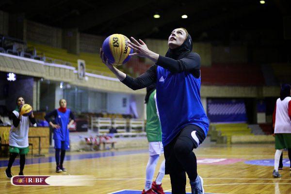 اردوی تیم ملی بسکتبال 3 نفره بانوان 9 600x400 اردوی تیم ملی بسکتبال ۳ نفره بانوان به روایت تصویر