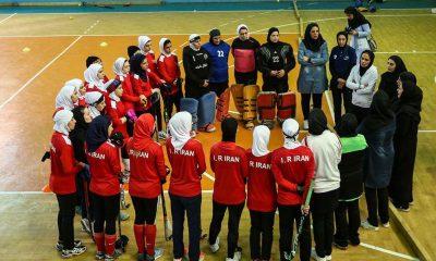 اردوی تیم ملی هاکی بانوان ایران 400x240 پایان مرحله دوم اردوی دختران هاکی ایران در راه حضور در تایلند