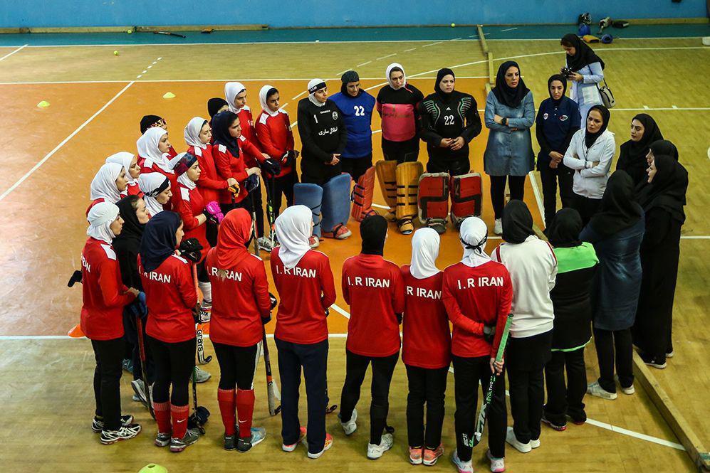 پایان مرحله دوم اردوی دختران هاکی ایران در راه حضور در تایلند