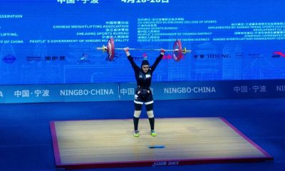 الناز باجلانی 400x240 پایان کار الناز باجلانی و ابریشم ارجمندخواه در وزنه برداری زنان آسیا