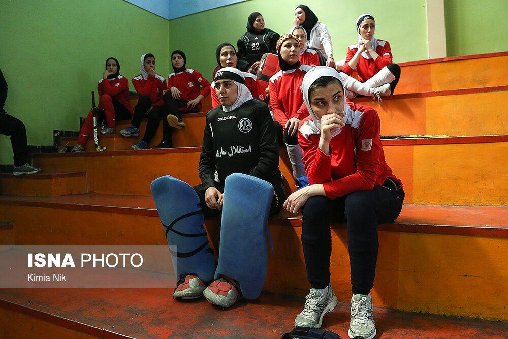 تمرین تیم ملی هاکی بانوان فروردین ۹۸ 14 1000x667 اردوی تیم ملی هاکی بانوان به روایت تصویر