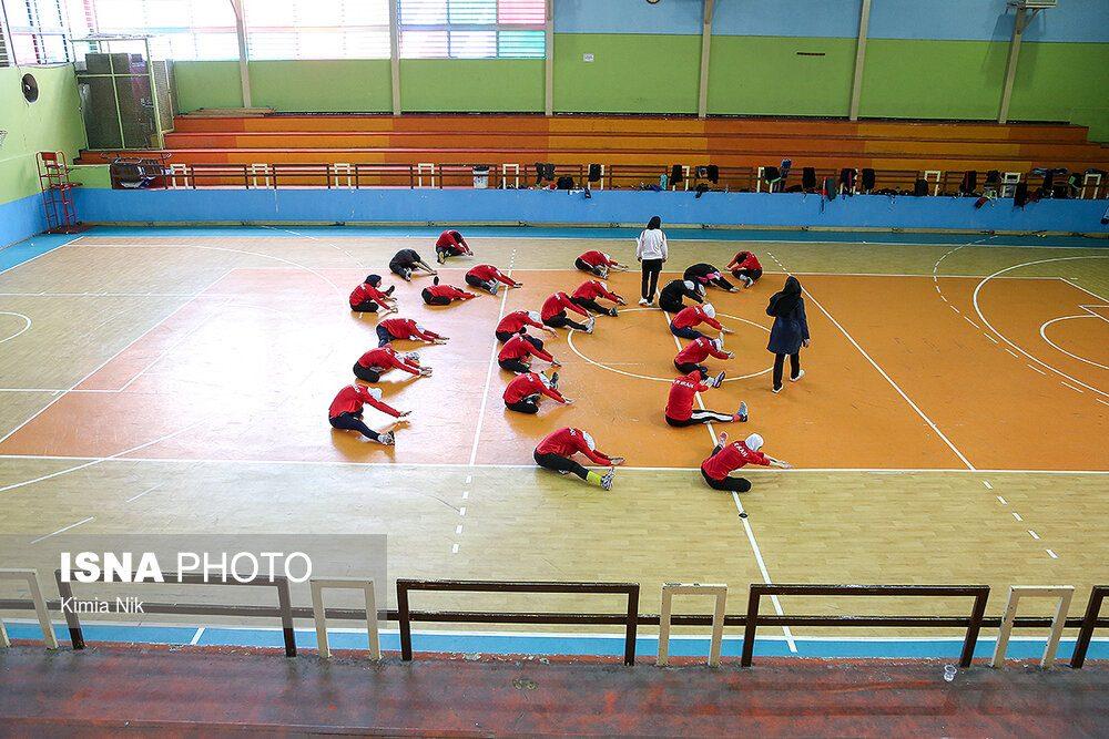 تمرین تیم ملی هاکی بانوان فروردین ۹۸ 3 1000x667 اردوی تیم ملی هاکی بانوان به روایت تصویر