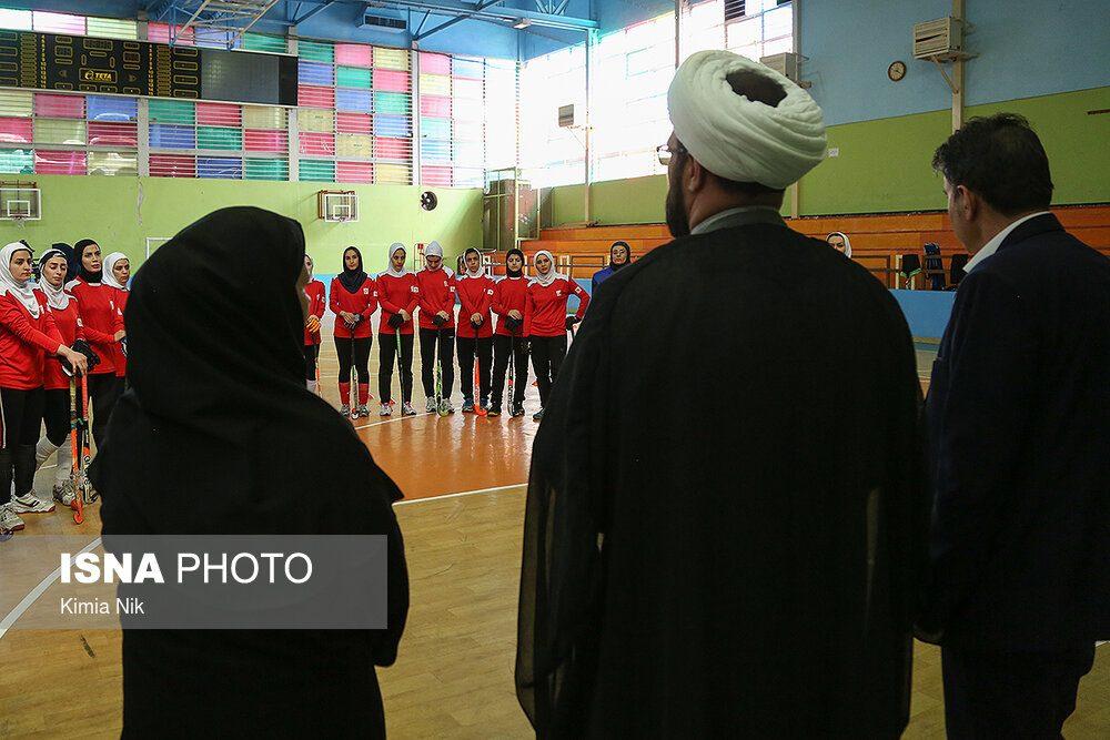 تمرین تیم ملی هاکی بانوان فروردین ۹۸ 4 1000x667 اردوی تیم ملی هاکی بانوان به روایت تصویر