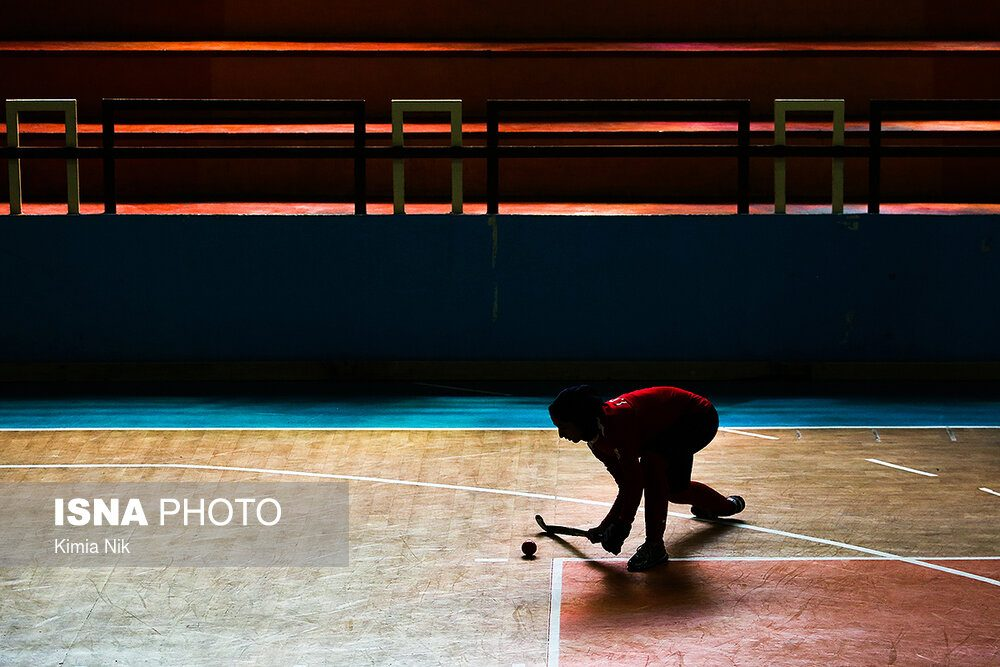 تمرین تیم ملی هاکی بانوان فروردین ۹۸ 8 1000x667 اردوی تیم ملی هاکی بانوان به روایت تصویر