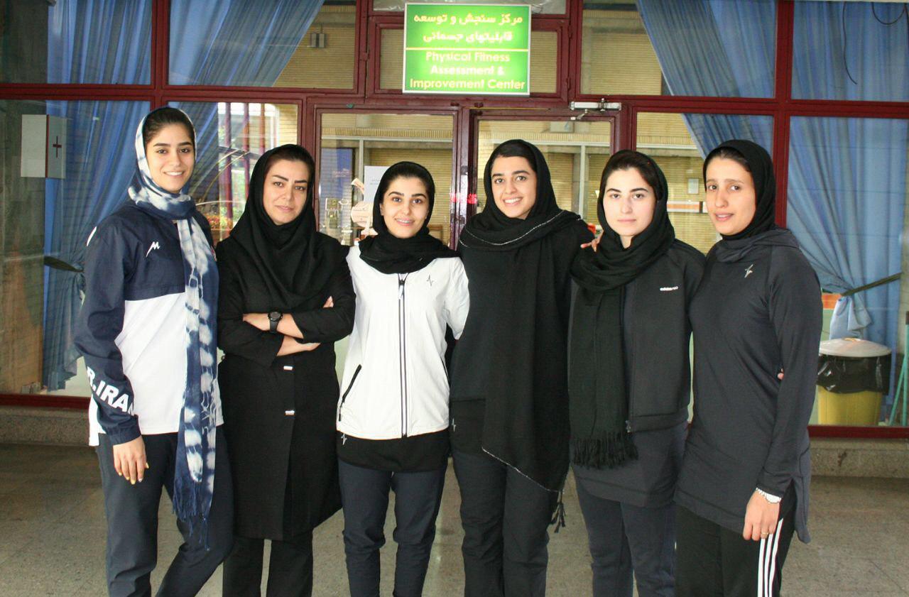 دختران شمشیرباز ایران در راه مسابقات قهرمانی آسیا در ژاپن