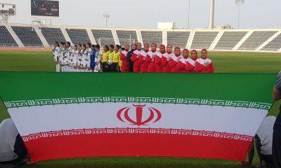 تیم ملی فوتبال بانوان ایران برابر فلسطین در مقدماتی المپیک 400x240 برای تیم ملی و ملت رنجور از بازنده سربلند بودن | ایمان بیاوریم به معجزه همبستگی قلبها