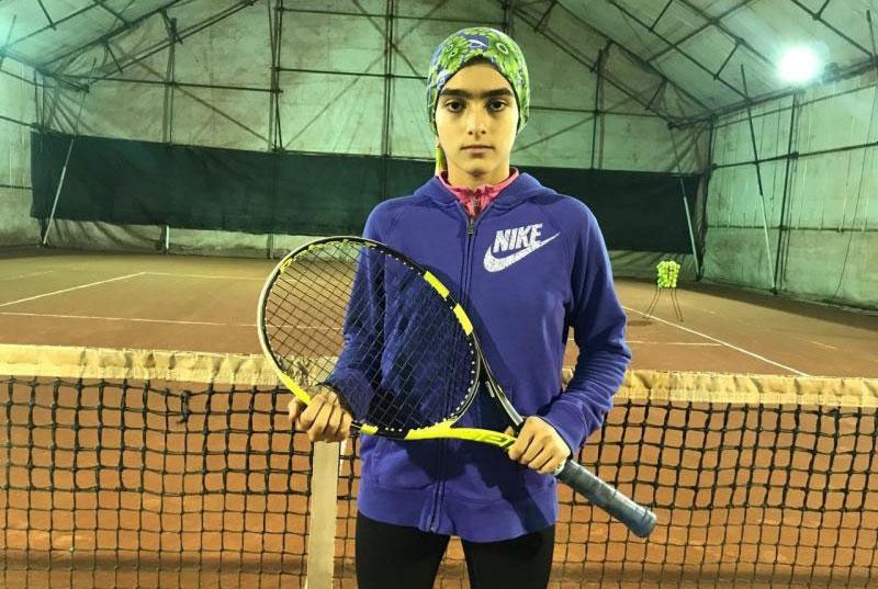 هفته دوم تور تنیس زیر ۱۴ سال آسیا | درسا چراغی قهرمان بخش دوبل شد