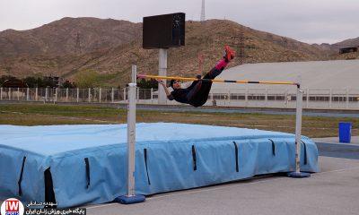رکورد گیری انتخابی تیم ملی دو و میدانی بانوان آیلین بابکی 400x240 قهرمانی تهران در دوومیدانی قهرمانی کشور جوانان  شکسته شدن 3 رکورد ملی در خرم آباد