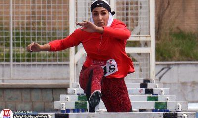 رکورد گیری انتخابی تیم ملی دو و میدانی بانوان الناز کمپانی 400x240 کمپانی در میان هیولاها ؛ دختر دو و میدانی کار در دوحه دست خالی ماند