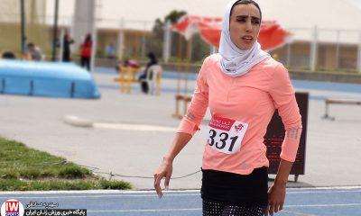 رکورد گیری انتخابی تیم ملی دو و میدانی بانوان الهام کاکلی 400x240 الهام کاکلی: دوومیدانی ایران از سطح جهانی دور است