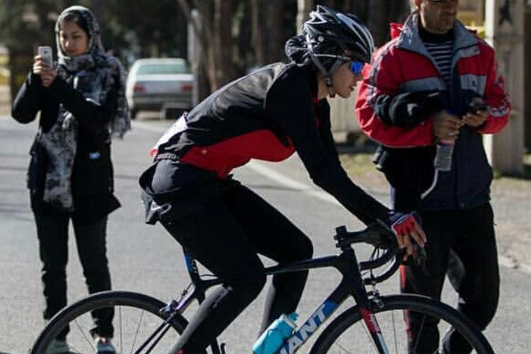 سمیه یزدانی تیم ملی دوچرخه سواری جاده بانوان سمیه یزدانی رکابزن جادهها در راه تاشکند   فقط طلا میتواند من را راضی کند!