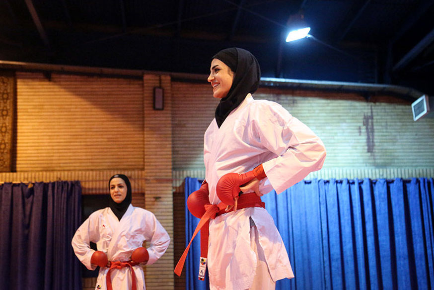 شگفتی کامل نشد | شیما آل سعدی مدال نقره کاراته وان دوبی را به دست آورد
