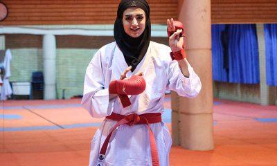 شیما آل سعدی عضو تیم ملی کاراته بانوان 400x240 همه چیز درباره شیما آل سعدی | زندگی دختر آرام شیراز ؛ از معادلات شیمی تا تیم ملی کاراته