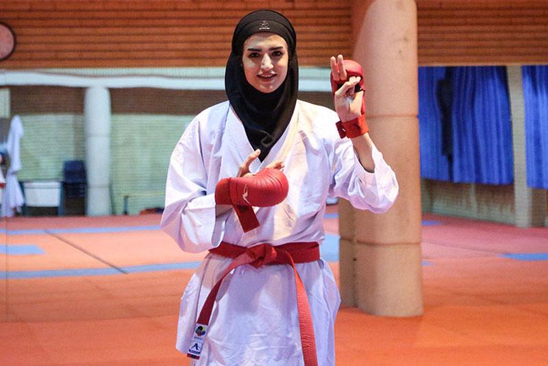 شیما آل سعدی عضو تیم ملی کاراته بانوان همه چیز درباره شیما آل سعدی | زندگی دختر آرام شیراز ؛ از معادلات شیمی تا تیم ملی کاراته