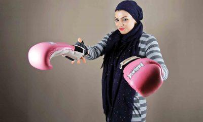 صدف خادم بوکس بانوان 400x240 پای صحبت بوکسور زن ایرانی   صدف خادم امشب در فرانسه روی رینگ میرود
