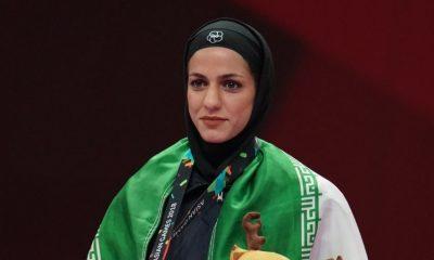 طراوت خاکسار 400x240 لیگ جهانی کاراته وان مراکش | خاکسار و عباسعلی صاحب مدال برنز شدند