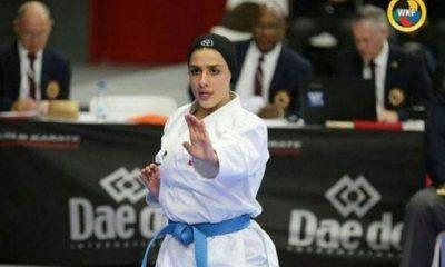فاطمه صادقی کاتای بانوان 400x240 فاطمه صادقی و فاصله نزدیک با المپیک | حذف کاراته از بازیهای آسیایی شوکه کننده بود