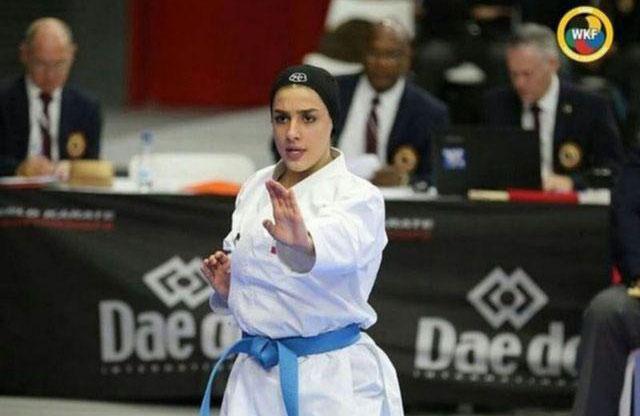 فاطمه صادقی و فاصله نزدیک با المپیک | حذف کاراته از بازیهای آسیایی شوکه کننده بود